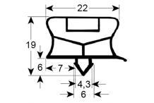 Burlete o junta perfil electrolux.2