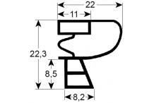 Burlete o junta perfil gram.2