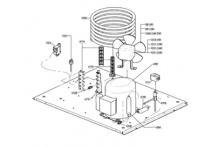 Recambios itv alfa ng 150 unidad condensadora de agua