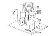 Recambios itv delta ng 80 unidad condensadora de agua