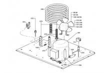 Recambios itv gala ng 110 unidad condensadora agua