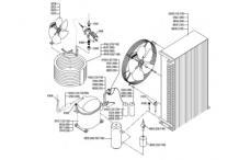 Recambios itv  ice queen 400 unidad condensador