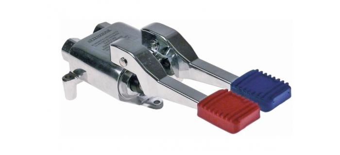 """pedal válvula agua fría/caliente montaje en suelo empalme 1/2"""""""