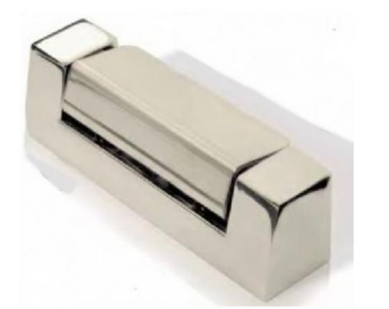 Bisagra cromo vertical l 100mm g-625