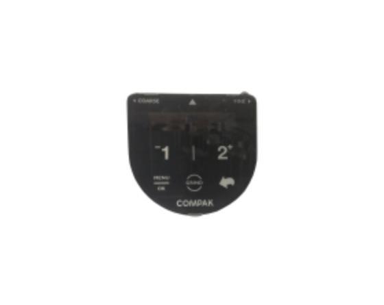 Conjunto botonera electrÓnica display compak