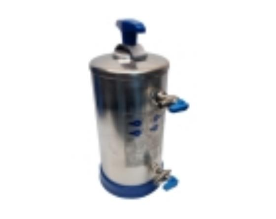 Depurador 8 litros tapa presion