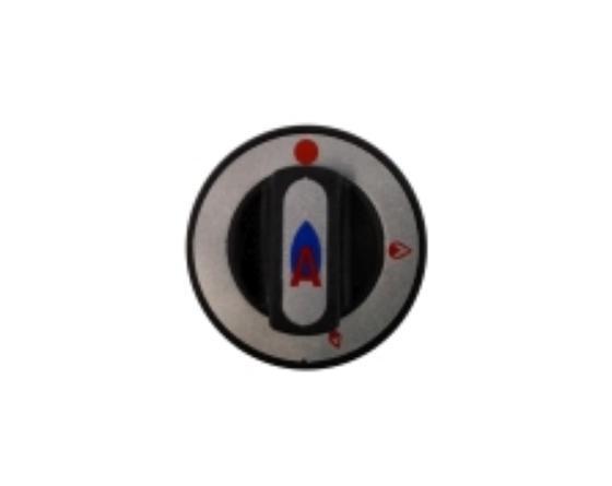 Mando grifo gas plancha repagas Ø8x6,5mm