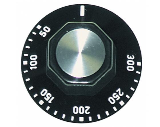 Mando termostato 50-300º 6x4.6mm