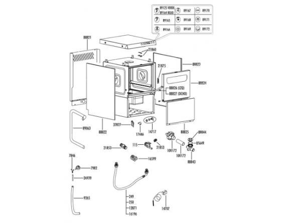 Manguera conexion lavado unica project system