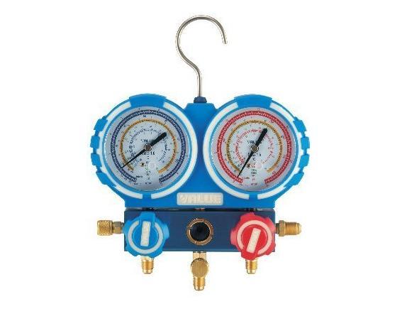 Manómetro 2 vías 68 mm para r22, r407c y r410a