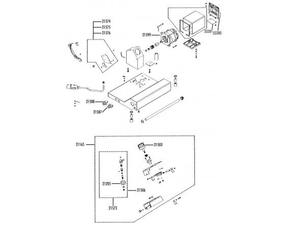 Motor cortadora 230v mat braher