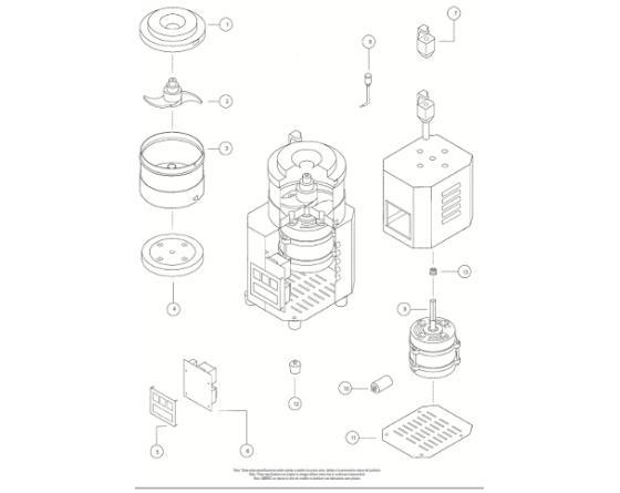 Motor cutter sk/ske 5/8 sammic