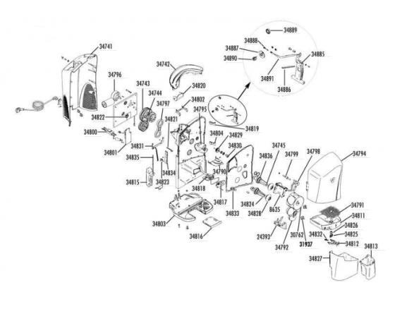 Motor reductor 230v exprimidor minex zumex