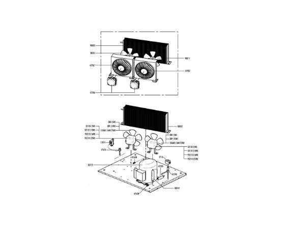 Motor Ventilador Fabricador Hielo Itv
