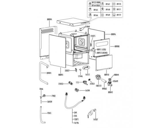 Puerta lavavajillas unica project system