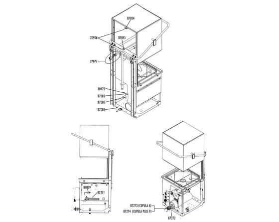 Resistencia cuba 2700w 230v nikrom