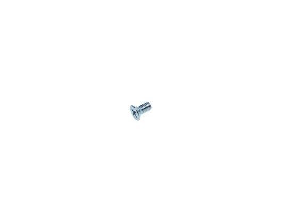 Tornillo de cabeza avellanada rosca m4 l 8mm inox din 965/iso 7046 ue 1 pzs ø cabezal 7,5mm giga