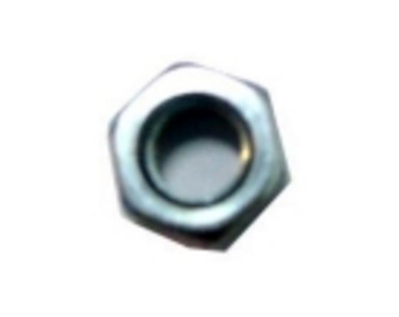 Tuerca hexagonal m5 din-934 zinc jemi