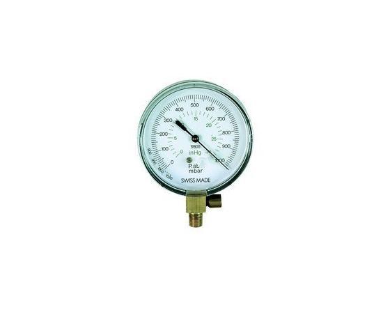 Vacuometro st-1000p-80 para panel 1/8 npt