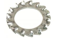 Arandela m12 din-6798 dentada