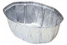 Bandeja ovalada aluminio para pollos (125uds)