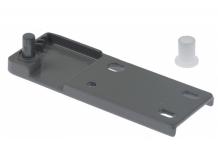 bisagra Equipo L 122mm An 43mm H 10mm distancia de sujeción 25mm perno 15mm perno ø 8mm