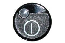 Boton pulsador negro crystaline