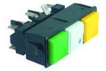 Botonera 3 interruptores 230v ms350/mlp6
