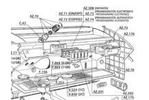 Botonera electronica programacion automatica Azkoyen