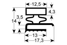 Burlete para frigorífico  afinox  an 555mm l 740mm