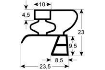 Burlete para frigorífico eku an 190mm l 357mm