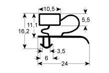 Burlete para frigorífico electrolux an  685mm l  1515mm