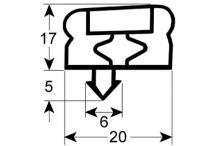 Burlete para frigorífico electrolux an  760mm l  2050mm