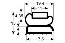 Burlete para frigorífico franke an 404mm l  595mm