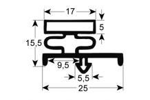 Burlete para frigorífico franke an 410mm l 575mm medida inserción