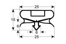 Burlete para frigorífico frenox an 620mm l 730mm