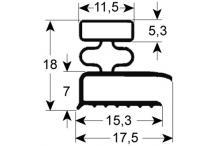 Burlete para frigorífico mareno an 195mm l 385mm