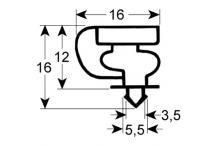Burlete para frigorífico tecfrigo an 648mm l 690mm