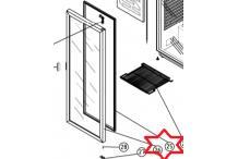 Burlete puerta armario 1700x600mm ur260 neg coreco fagor
