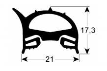 Burlete puerta horno 635x770mm baron olis