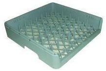 Cesto bandejas 500x500x106mm cerrado plastico