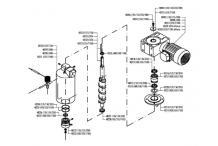 Cojinete superior motor reductor ice queen itv