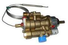 Grifo gas termostático pel25st plancha / fry-top