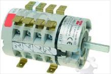 Interruptor giratorio 5 0-1-2-3-4 juegos de contactos inoxtrend