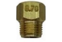 Inyector Gas Butano Plancha M8 Ø0.70mm PG80