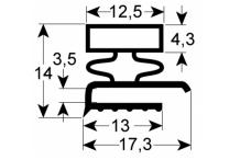 Junta para frigorífico perfil 9140 l 2500mm