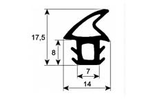 Burlete puerta horno 2170mm