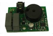 Platina de zumbador l 54mm an 48mm empalme conector faston 6,3mm