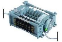 Programador 5 micros 230v modelo 54 colged