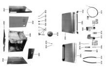 Puerta lavavajillas gs-7 m540x430mm  jemi